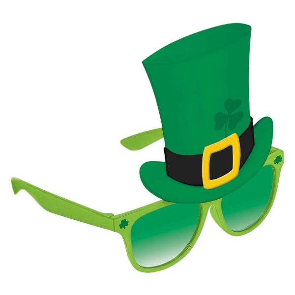 St. Patrick's Day Fun Shades with Hat